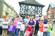 Campaigners protest against Tesco proposal