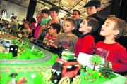 All eyes on the action at last year's Great Western Brick Show at STEAM