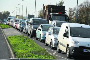 Travel chaos ahead for town's drivers