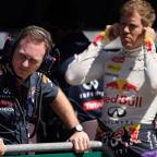 Swindon Advertiser: The working relationship between Christian Horner, left, and Sebastian Vettel, right, is coming to an end