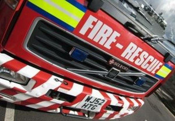 Specialist firefighters join 'missing person search' at lake