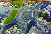 Greetings from Swindon… the junction initially known as The Experiment At The County Island Roundabout has adorned many a Swindon postcard as well as calendars, key-rings and t-shirts