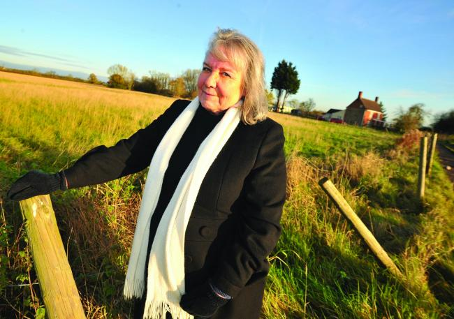 Sylvia Brown, chairman of South Marston Parish Council
