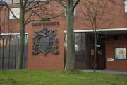 A man is to face trial by judge and jury accused of taking part in a public order offence on Christmas Eve