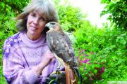 Kathy Ratcliffe imagined owning birds of prey as a c