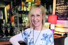 Barbara Lockwood, former head of forensics and now behind the bar at the New Calley Arms