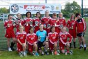 Swindon Town Ladies Under 16s completed a treble this season