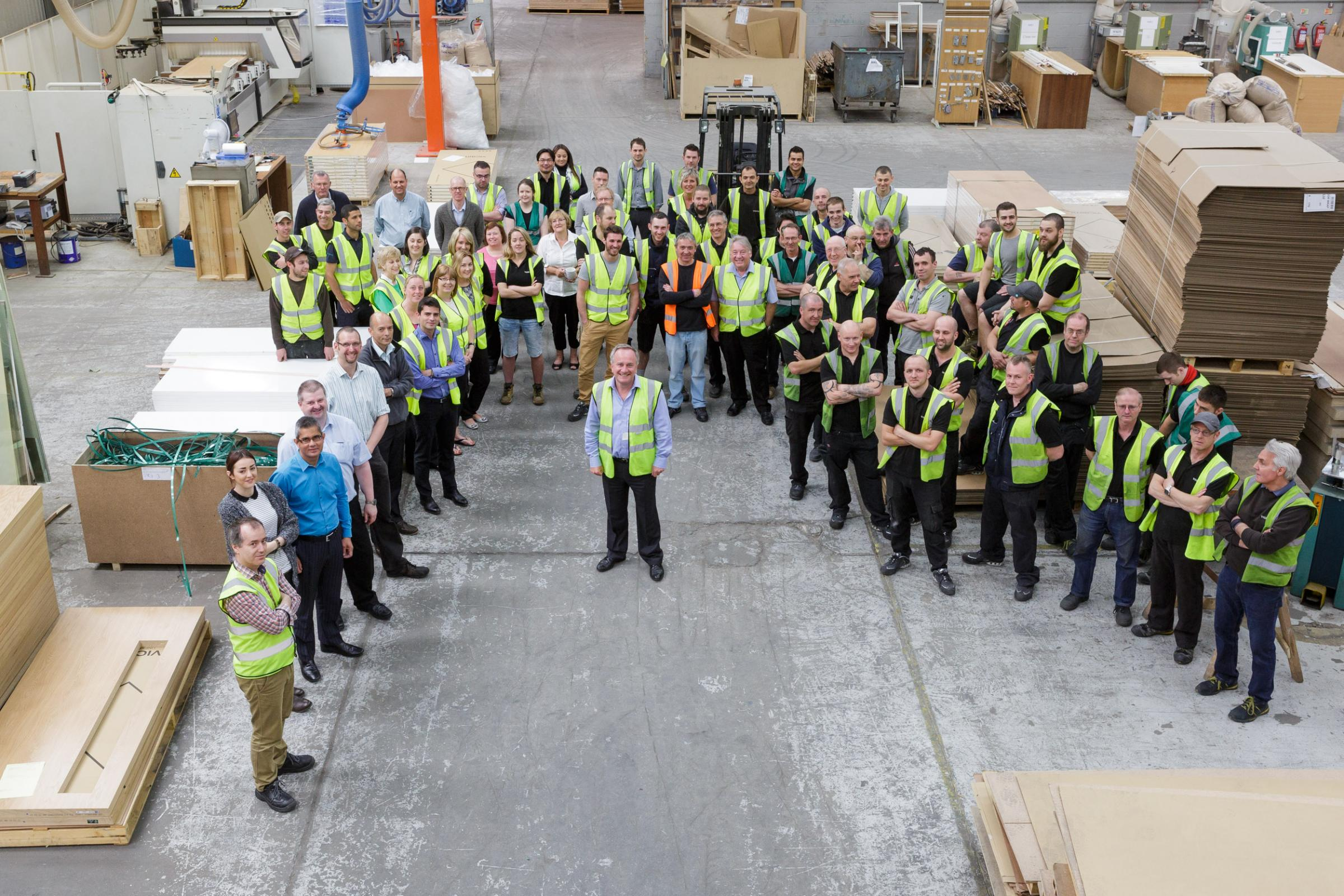 Jobs secured in multi-million pound investment at door manufacturer | Swindon Advertiser & Jobs secured in multi-million pound investment at door manufacturer ...