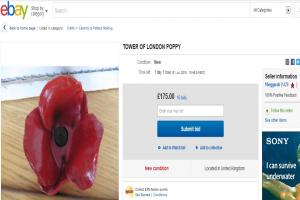 Bid to cash in on WWI commemoration poppy