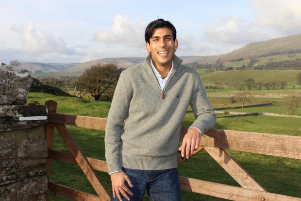 Swindon Advertiser: RURAL: Rishi Sunak