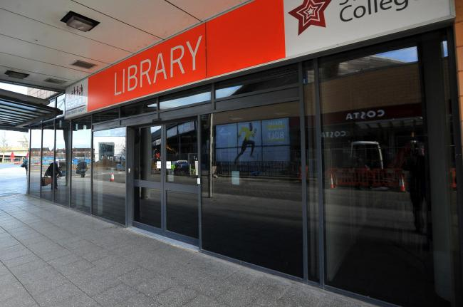 Library North Swindon Orbital.