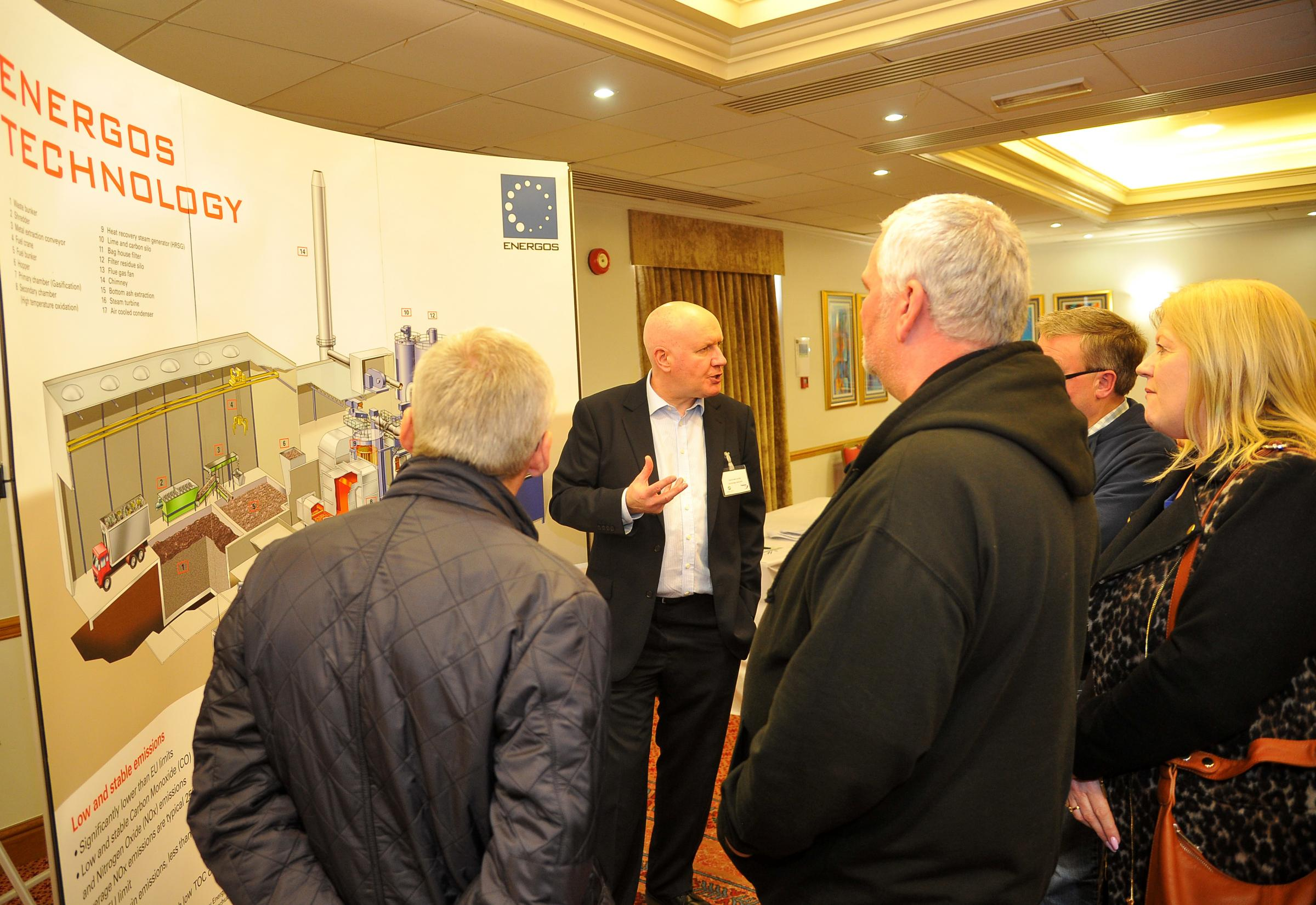 n Residents who attended the public engagement session about the new energy centre near to Honda