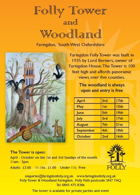 Faringdon Folly Tower and Woodland