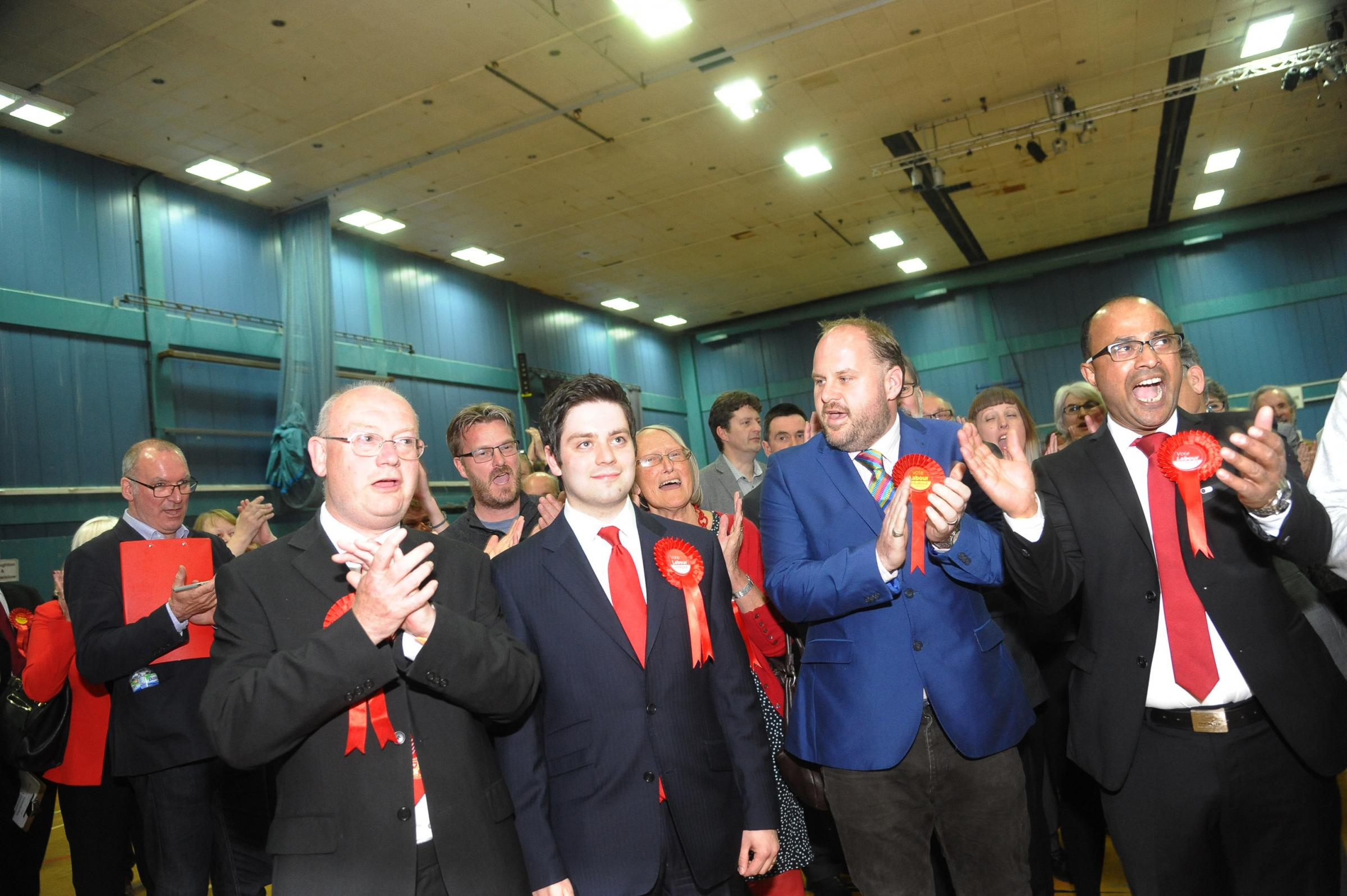 Matthew Courtliff clinched victory at the local elections in May