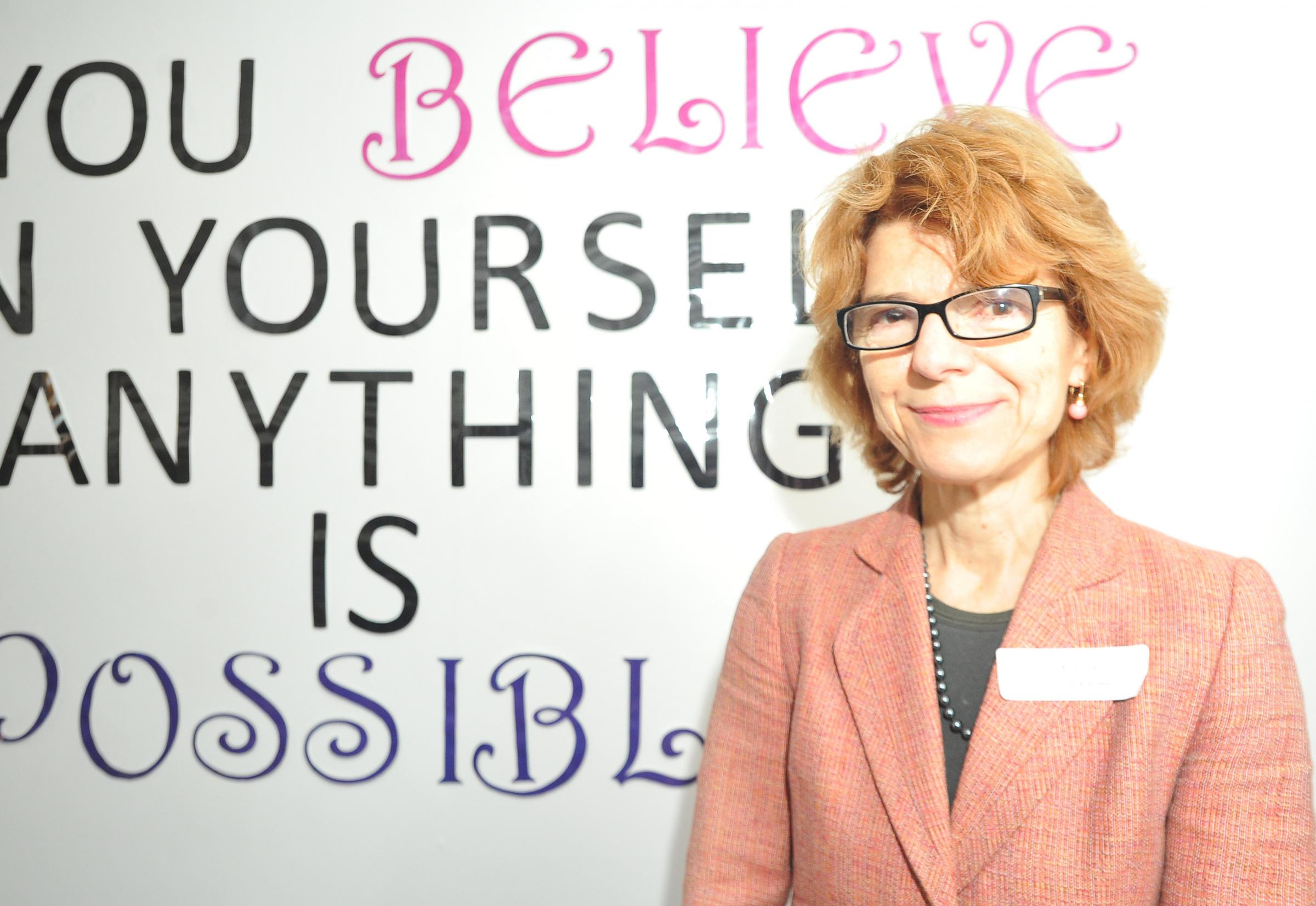 Vicky Pryce, economist and author, believes prison for female criminals in Swindon and the rest of the country should be a last resort. Picture by Dave Cox