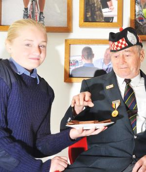 Swindon Advertiser: Veterans, friends and families gathered at the Royal British Legion Pop-In Centre, to remember the fallen of the Battle of Jutland