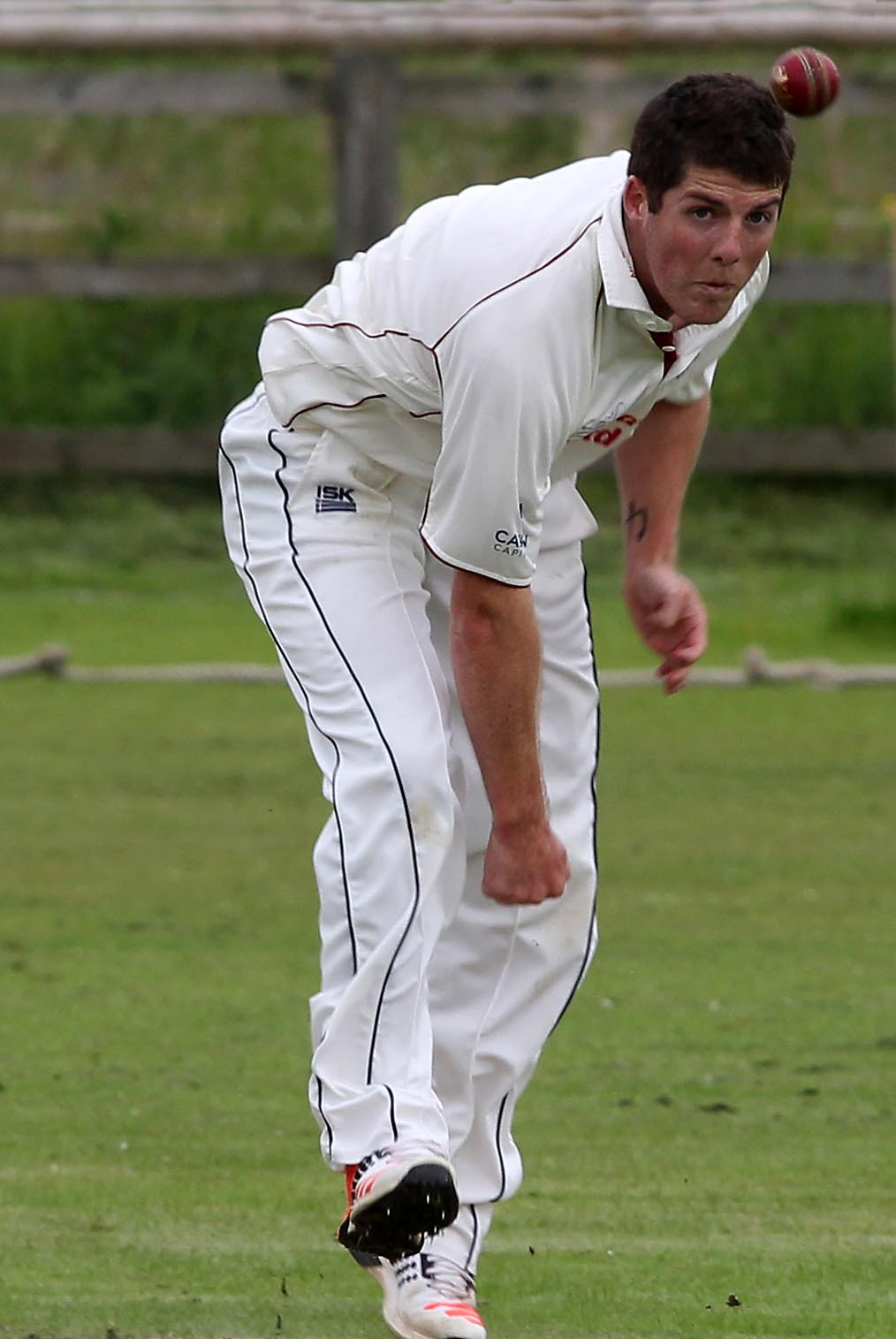 Liam Smith took three wickets in Lechlade's defeat to Bristol, which confirmed their relegation from Premier One