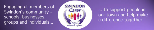 Swindon Cares logo