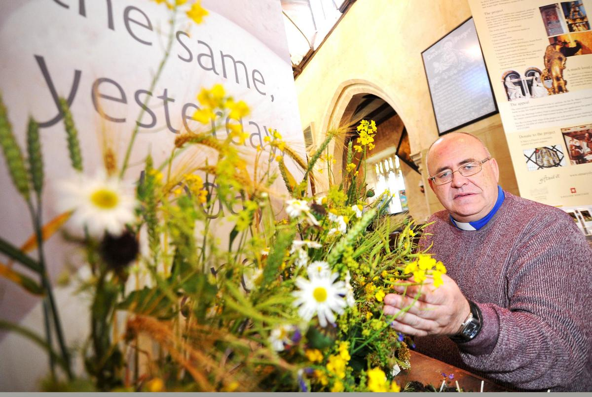 St marys church holds flower and music festival swindon advertiser st marys church holds flower and music festival izmirmasajfo