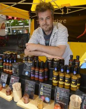 Swindon Advertiser: Some like it hot... some like it hotter when the Chilli Fiesta comes to Swindon this weekend