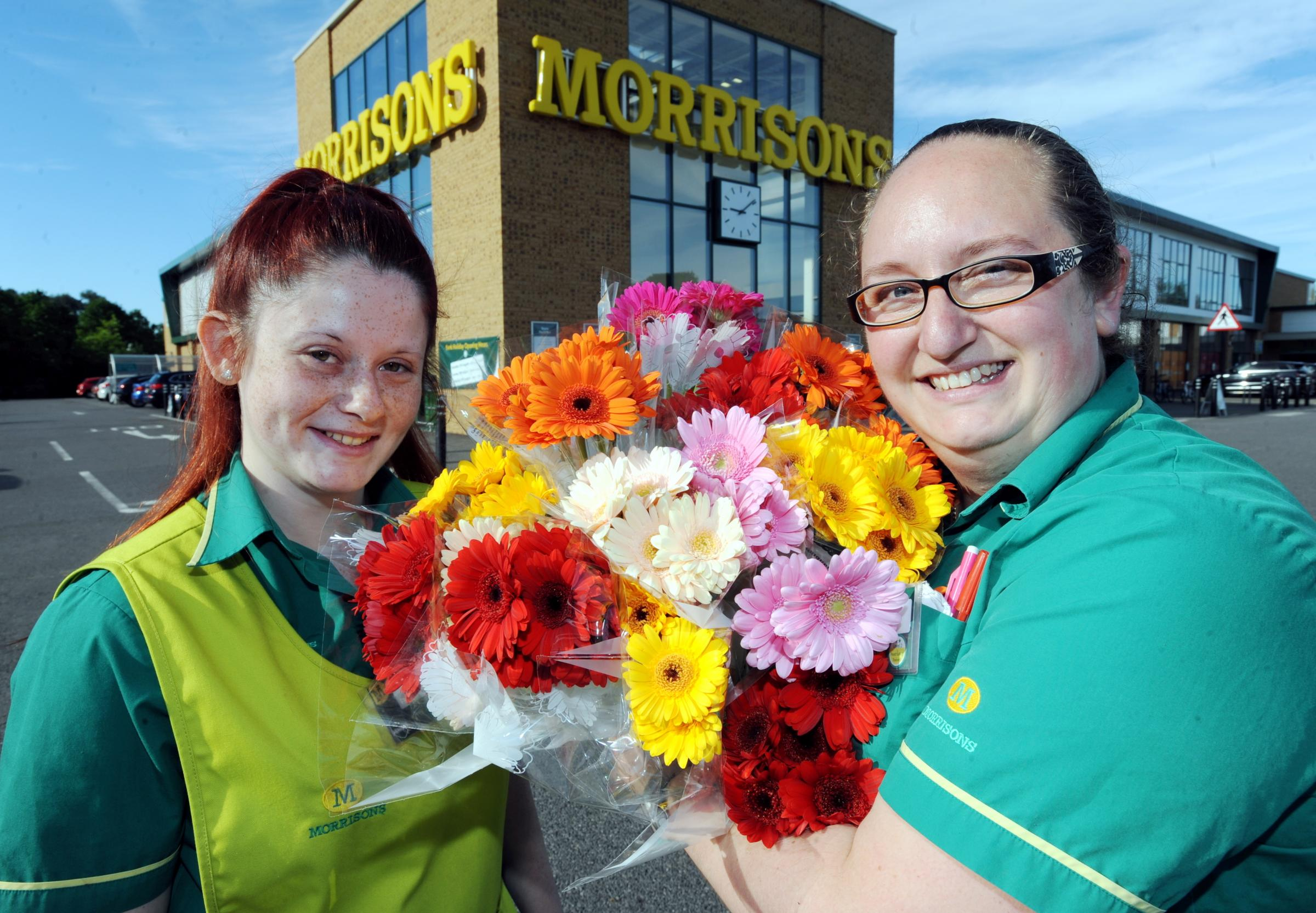Morrisons hoping to make residents day with colourful floral gifts morrisons hoping to make residents day with colourful floral gifts swindon advertiser izmirmasajfo