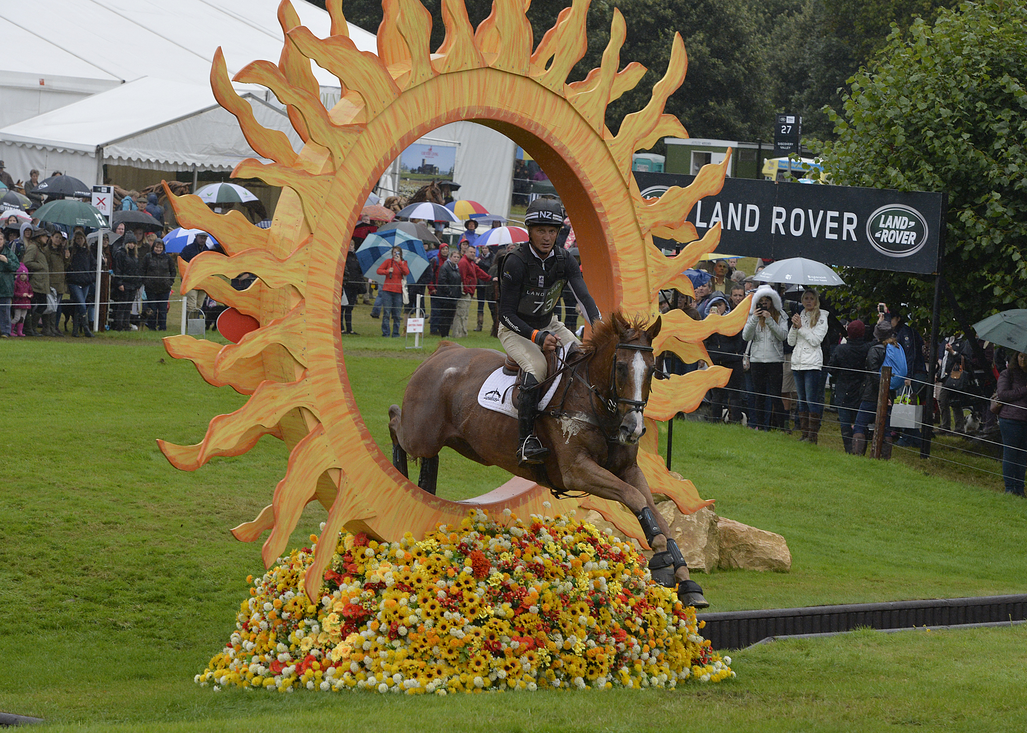 Andrew Nicholson and Nereo at Burghley
