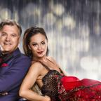 Swindon Advertiser: Yvette Cooper sent Ed Balls a good luck message from the Labour conference before his first dance on Strictly