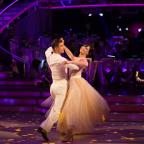 Swindon Advertiser: Daisy Lowe flies to top of the Strictly leaderboard after week one