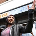 Swindon Advertiser: Russell Brand gives his east London cafe to charity