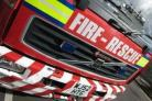 Fence fire in Gorse Hill extinguished