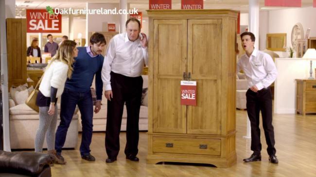 Oak Furniture Land Veneer Ad Claims Fine Says Watchdog Swindon