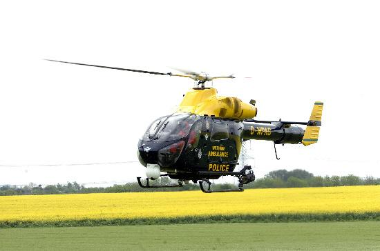 Emergency effort from Wiltshire Air Ambulance