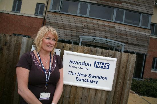 Julie Jame-Kempshall, manager of the New Swindon Sanctuary