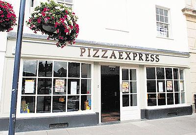 TRIUMPH: The newly opened Pizza Express has a buzzing atmosphere and simple, fresh food