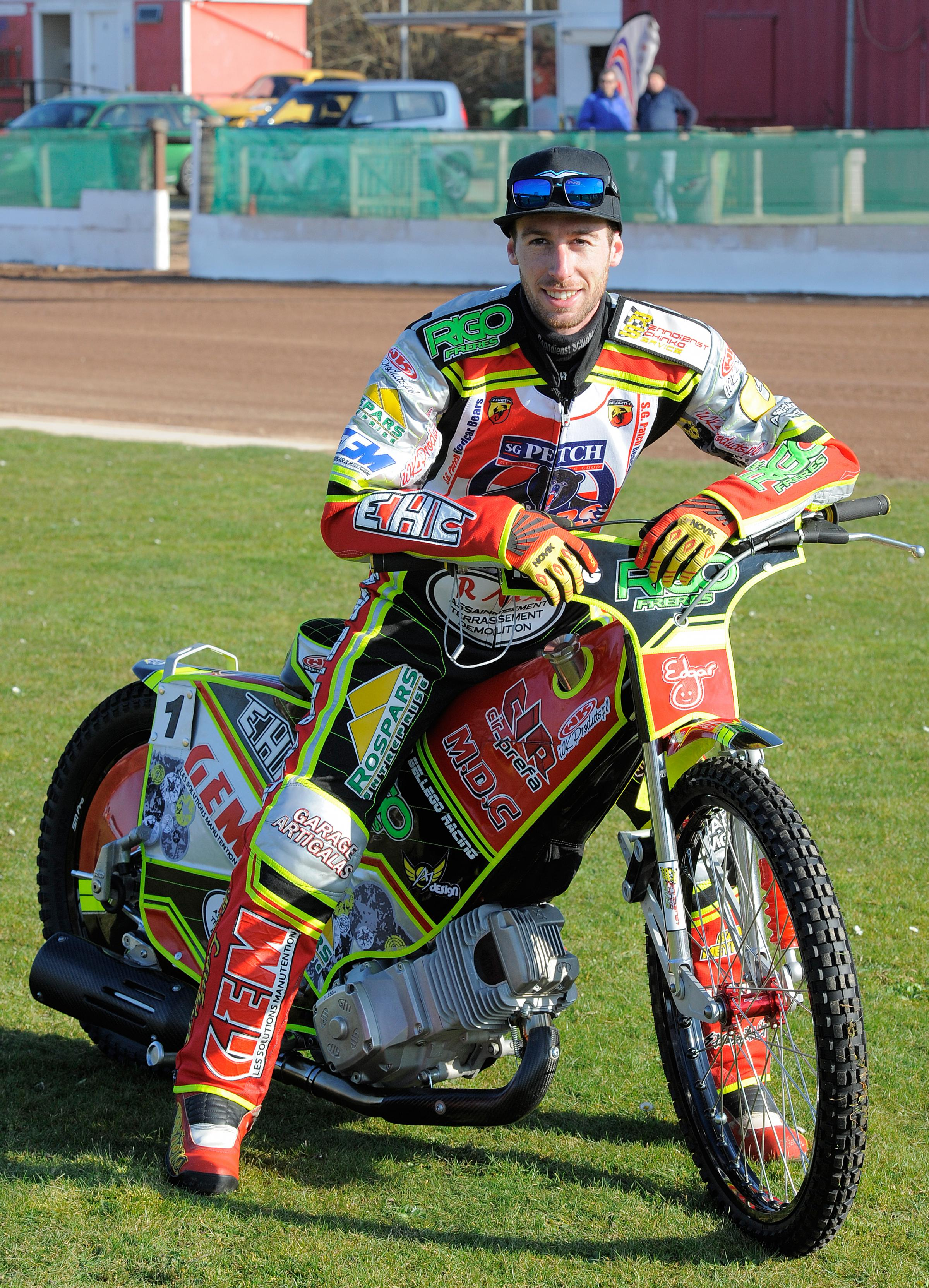 David Bellego has joined the Swindon Robins  Picture: THE GAZETTE