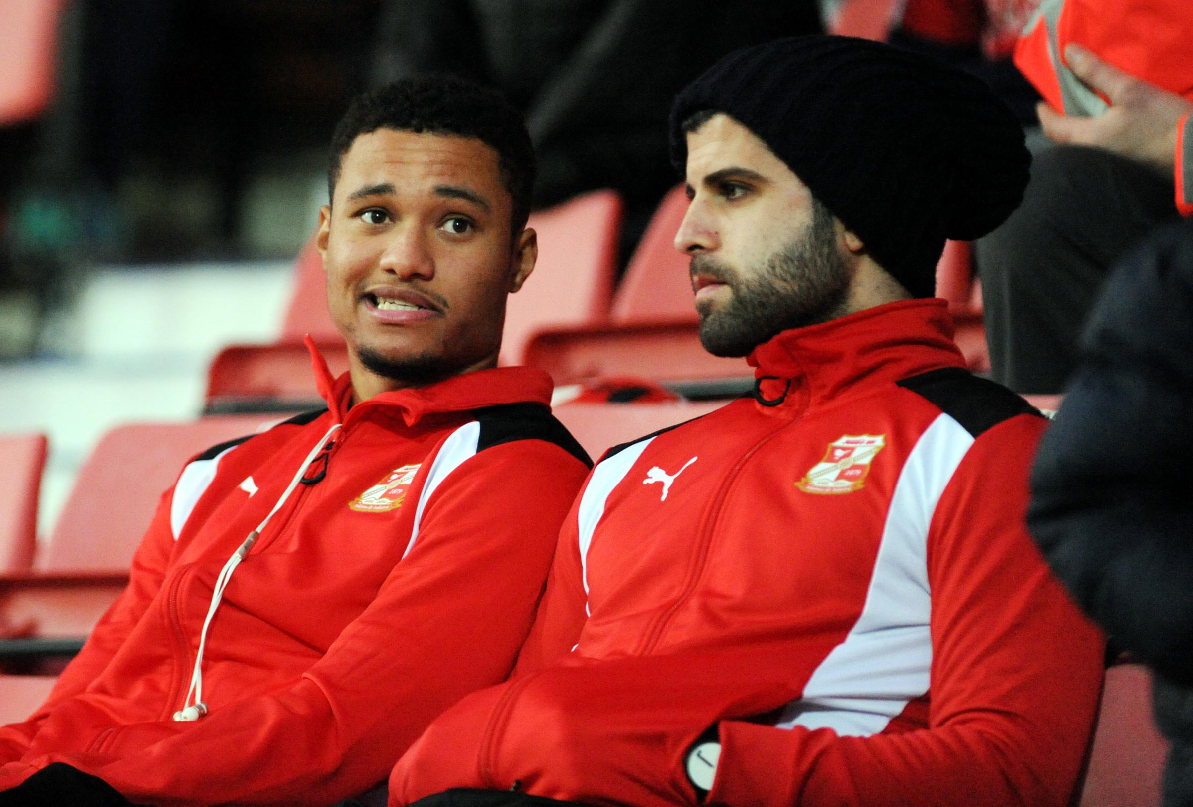 The future of Jermaine Hylton (left) and Yaser Kasim appear to be away from the County Ground