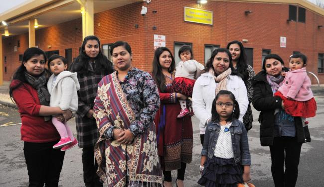 Members of Swindon's Hindu community, who are organising this year's Saraswati Puja. Picture: THOMAS KELSEY