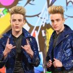 Swindon Advertiser: Jedward offer flawless logic for why the CBB toilet is a mess...then get back to eating a strawberry