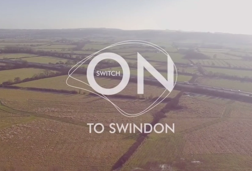 Swindon hits the big screen with the launch of a new promotional video