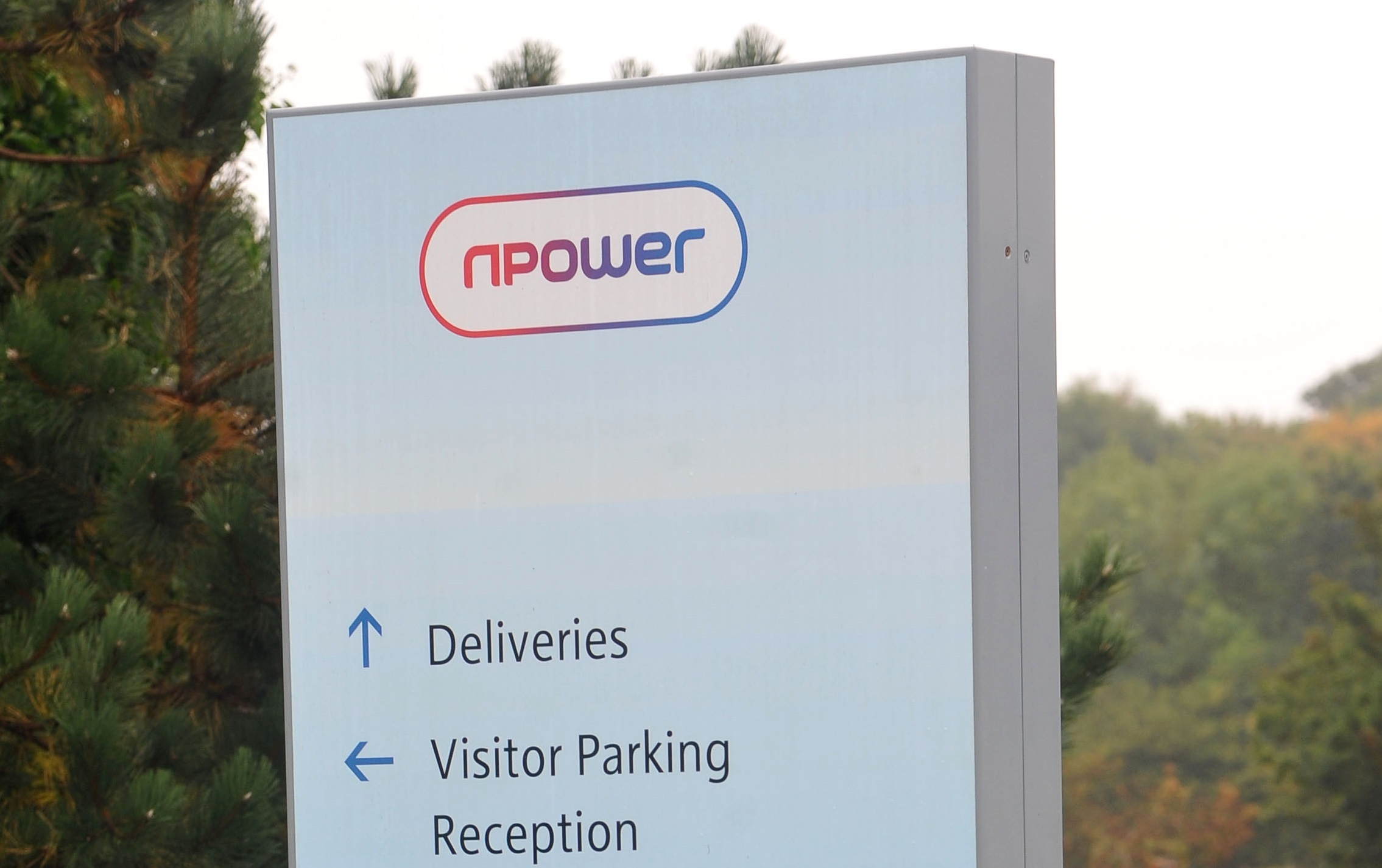 GV of Npower in Windmill Business Park. 