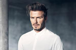David Beckham, who has been emboiled in a row over the motives behind his charity work