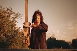 This scene from The Texas Chainsaw Massacre is an example of what would constitute an emergency