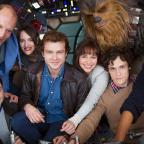 Swindon Advertiser: Han Solo movie cast together as filming of Star Wars spin-off begins