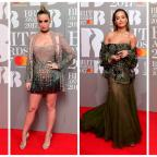 Swindon Advertiser: Stars show plenty of skin in glitzy red carpet outfits at the Brit Awards