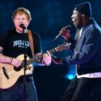 Swindon Advertiser: Stormzy joins Ed Sheeran for an impromptu collaboration at the Brit Awards and fans absolutely love it