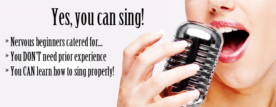 Private Vocal Tuition - all abilities welcome