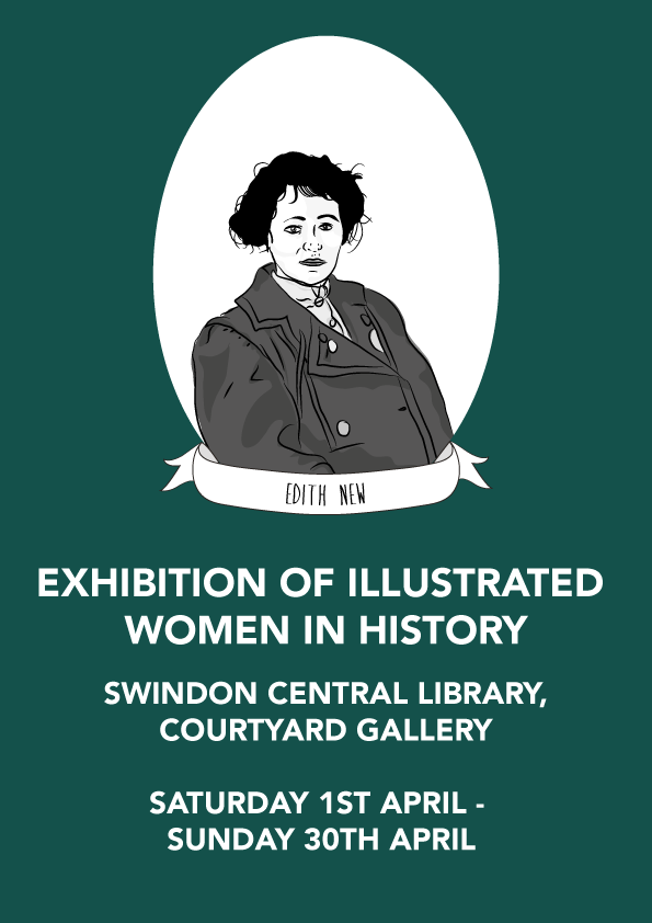 Illustrated Women in History Exhibition