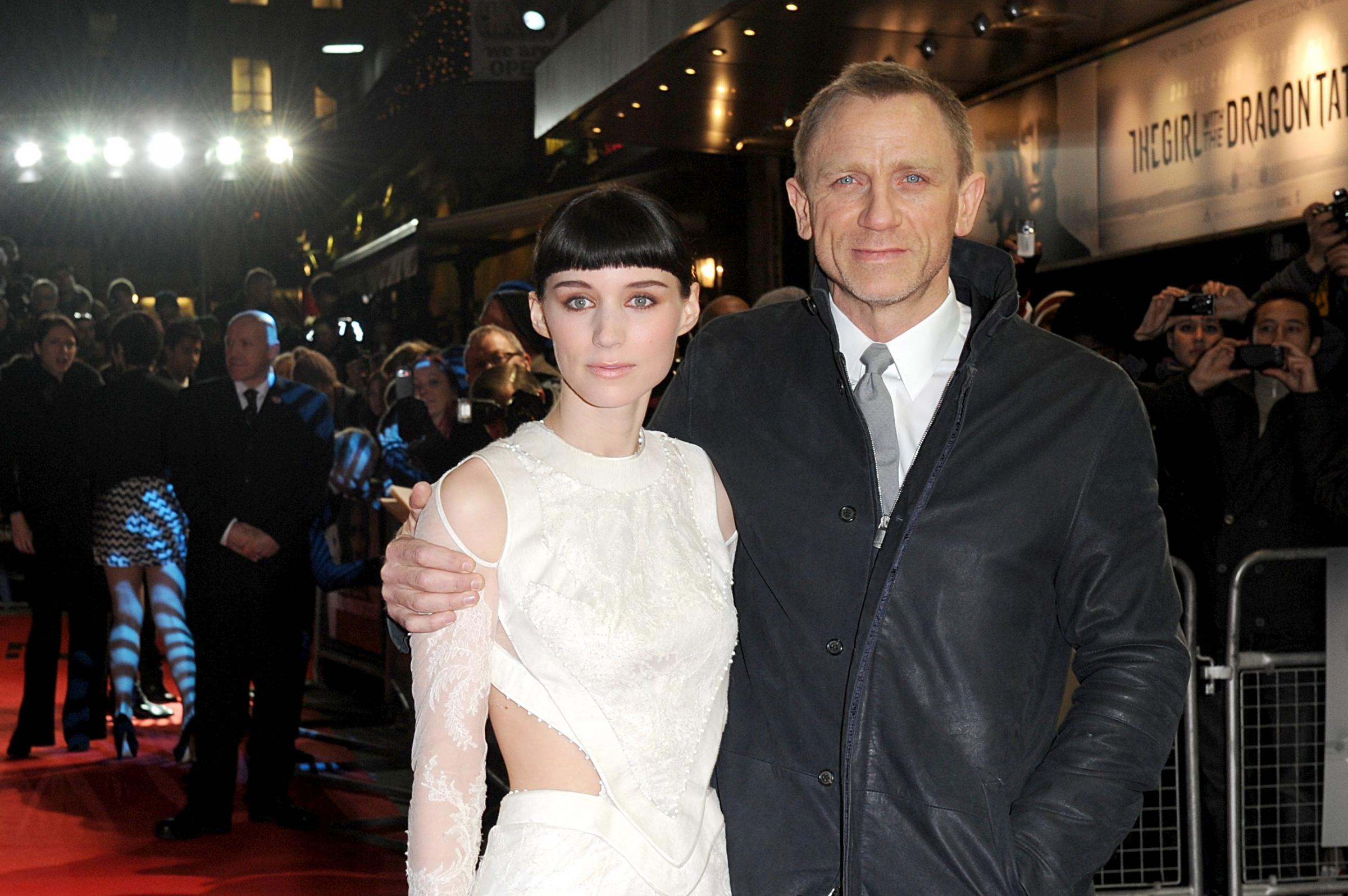 Rooney Mara and Daniel Craig out as new cast lined up for Girl With The Dragon Tattoo follow-up