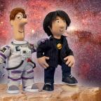 Swindon Advertiser: Professor Brian Cox makes space for role in Postman Pat