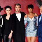 Swindon Advertiser: The Voice UK judges and contestants get all dressed up for final launch